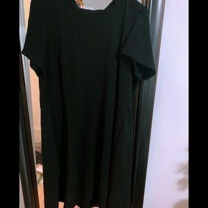 Black Calvin Klein dress!